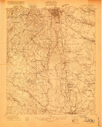 Orangeburg South Carolina Historical topographic map, 1:48000 scale, 15 X 15 Minute, Year 1920
