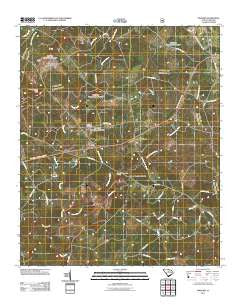 Owdoms South Carolina Historical topographic map, 1:24000 scale, 7.5 X 7.5 Minute, Year 2011
