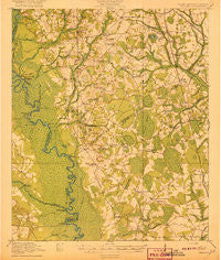 Peeples South Carolina Historical topographic map, 1:62500 scale, 15 X 15 Minute, Year 1920
