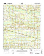 Prospect Crossroads South Carolina Current topographic map, 1:24000 scale, 7.5 X 7.5 Minute, Year 2014 from South Carolina Map Store