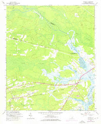 Ravenel South Carolina Historical topographic map, 1:24000 scale, 7.5 X 7.5 Minute, Year 1960