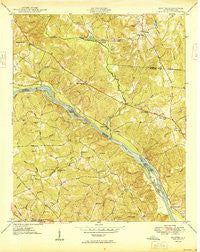 Richtex South Carolina Historical topographic map, 1:24000 scale, 7.5 X 7.5 Minute, Year 1949