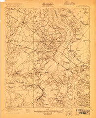Ridgeville South Carolina Historical topographic map, 1:48000 scale, 15 X 15 Minute, Year 1919