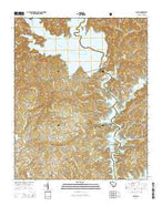 Salem South Carolina Current topographic map, 1:24000 scale, 7.5 X 7.5 Minute, Year 2014 from South Carolina Map Store