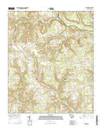 Seivern South Carolina Current topographic map, 1:24000 scale, 7.5 X 7.5 Minute, Year 2014 from South Carolina Map Store