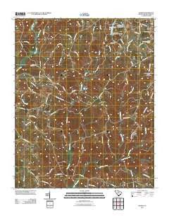 Sharon South Carolina Historical topographic map, 1:24000 scale, 7.5 X 7.5 Minute, Year 2011
