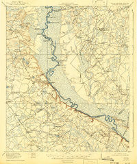 Shirley Georgia Historical topographic map, 1:62500 scale, 15 X 15 Minute, Year 1919