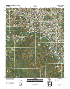Stallsville South Carolina Historical topographic map, 1:24000 scale, 7.5 X 7.5 Minute, Year 2011