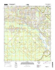 Stallsville South Carolina Current topographic map, 1:24000 scale, 7.5 X 7.5 Minute, Year 2014 from South Carolina Maps Store