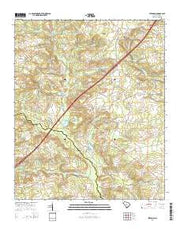 Steedman South Carolina Current topographic map, 1:24000 scale, 7.5 X 7.5 Minute, Year 2014 from South Carolina Maps Store