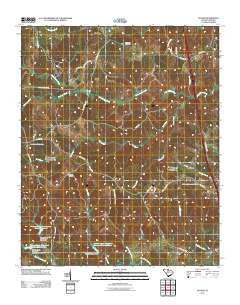 Stover South Carolina Historical topographic map, 1:24000 scale, 7.5 X 7.5 Minute, Year 2011