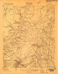 Summerville South Carolina Historical topographic map, 1:48000 scale, 15 X 15 Minute, Year 1919