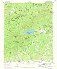 Table Rock South Carolina Historical topographic map, 1:24000 scale, 7.5 X 7.5 Minute, Year 1946