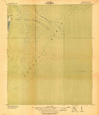 The Jetties South Carolina Historical topographic map, 1:21120 scale, 7.5 X 7.5 Minute, Year 1919