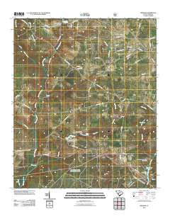 Windsor South Carolina Historical topographic map, 1:24000 scale, 7.5 X 7.5 Minute, Year 2011