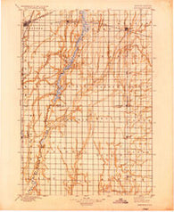 Aberdeen South Dakota Historical topographic map, 1:125000 scale, 30 X 30 Minute, Year 1895