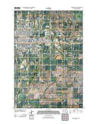 Aberdeen East South Dakota Historical topographic map, 1:24000 scale, 7.5 X 7.5 Minute, Year 2012