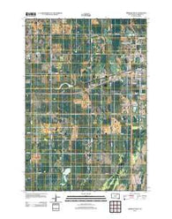 Aberdeen West South Dakota Historical topographic map, 1:24000 scale, 7.5 X 7.5 Minute, Year 2012