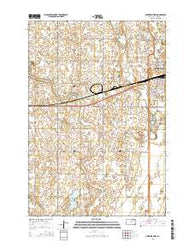 Aberdeen West South Dakota Current topographic map, 1:24000 scale, 7.5 X 7.5 Minute, Year 2015