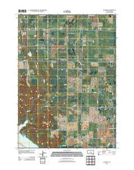 Academy South Dakota Historical topographic map, 1:24000 scale, 7.5 X 7.5 Minute, Year 2012