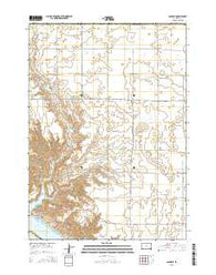 Academy South Dakota Current topographic map, 1:24000 scale, 7.5 X 7.5 Minute, Year 2015