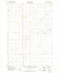 Agar NE South Dakota Historical topographic map, 1:24000 scale, 7.5 X 7.5 Minute, Year 1970