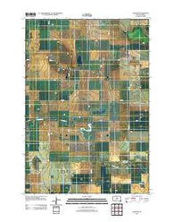 Agar NW South Dakota Historical topographic map, 1:24000 scale, 7.5 X 7.5 Minute, Year 2012