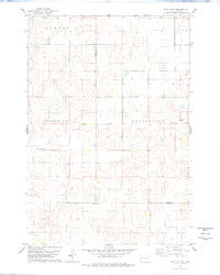 Bald Hills South Dakota Historical topographic map, 1:24000 scale, 7.5 X 7.5 Minute, Year 1978