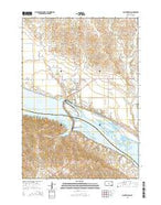 Big Bend Dam South Dakota Current topographic map, 1:24000 scale, 7.5 X 7.5 Minute, Year 2015 from South Dakota Map Store