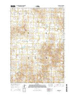 Big Draw South Dakota Current topographic map, 1:24000 scale, 7.5 X 7.5 Minute, Year 2015 from South Dakota Map Store