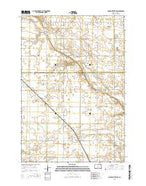 Big Stone Lake SW South Dakota Current topographic map, 1:24000 scale, 7.5 X 7.5 Minute, Year 2015 from South Dakota Map Store