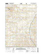 Black Banks Creek East South Dakota Current topographic map, 1:24000 scale, 7.5 X 7.5 Minute, Year 2015 from South Dakota Map Store