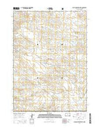 Black Banks Creek West South Dakota Current topographic map, 1:24000 scale, 7.5 X 7.5 Minute, Year 2015 from South Dakota Map Store