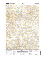 Black Eyes South Dakota Current topographic map, 1:24000 scale, 7.5 X 7.5 Minute, Year 2015 from South Dakota Map Store