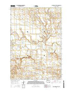 Black Horse Butte NE South Dakota Current topographic map, 1:24000 scale, 7.5 X 7.5 Minute, Year 2015 from South Dakota Map Store