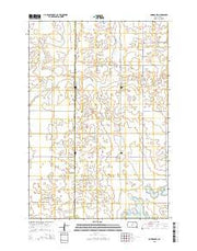 Bowdle SW South Dakota Current topographic map, 1:24000 scale, 7.5 X 7.5 Minute, Year 2015 from South Dakota Maps Store