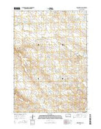 Bowen Ranch South Dakota Current topographic map, 1:24000 scale, 7.5 X 7.5 Minute, Year 2015 from South Dakota Map Store