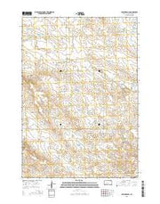 Bowen Ranch South Dakota Current topographic map, 1:24000 scale, 7.5 X 7.5 Minute, Year 2015 from South Dakota Maps Store