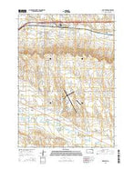 Box Elder South Dakota Current topographic map, 1:24000 scale, 7.5 X 7.5 Minute, Year 2015 from South Dakota Map Store
