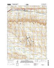 Box Elder South Dakota Current topographic map, 1:24000 scale, 7.5 X 7.5 Minute, Year 2015 from South Dakota Maps Store