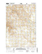 Boxcar Buttes South Dakota Current topographic map, 1:24000 scale, 7.5 X 7.5 Minute, Year 2015 from South Dakota Map Store