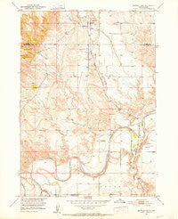 Buffalo Gap South Dakota Historical topographic map, 1:24000 scale, 7.5 X 7.5 Minute, Year 1950
