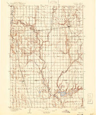 Byron South Dakota Historical topographic map, 1:125000 scale, 30 X 30 Minute, Year 1895