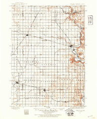 Canton South Dakota Historical topographic map, 1:125000 scale, 30 X 30 Minute, Year 1897