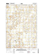 Clark North South Dakota Current topographic map, 1:24000 scale, 7.5 X 7.5 Minute, Year 2015 from South Dakota Map Store