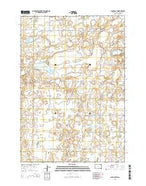 Clark South South Dakota Current topographic map, 1:24000 scale, 7.5 X 7.5 Minute, Year 2015 from South Dakota Map Store