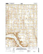 Clayton South Dakota Current topographic map, 1:24000 scale, 7.5 X 7.5 Minute, Year 2015 from South Dakota Map Store