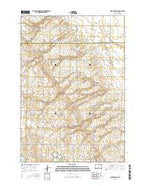 Clear Lake NE South Dakota Current topographic map, 1:24000 scale, 7.5 X 7.5 Minute, Year 2015 from South Dakota Map Store