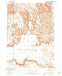 Cuny Table East South Dakota Historical topographic map, 1:24000 scale, 7.5 X 7.5 Minute, Year 1950