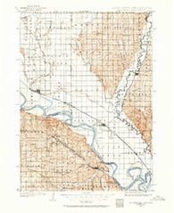 Elk Point South Dakota Historical topographic map, 1:125000 scale, 30 X 30 Minute, Year 1898